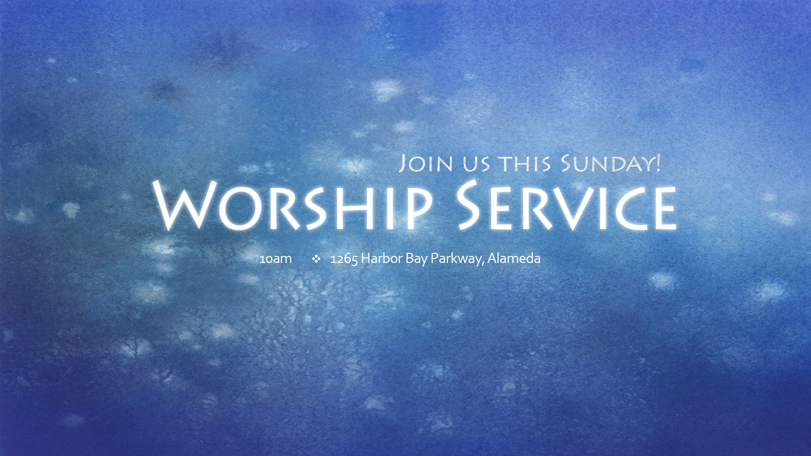 Gracepoint Berkeley - Sunday Worship Service